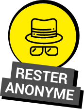Rester anonyme